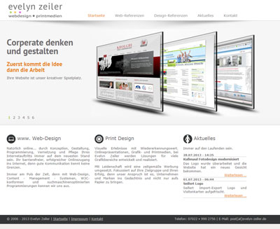 webdesign evelyn zeiler
